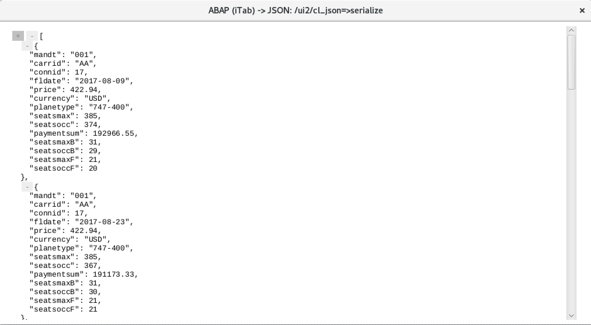 ABAP to JSON and JSON to ABAP